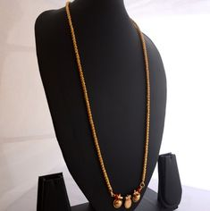 Our rebeled gold bijou fascination is persistent, and this blush-toned rewrite is perfect for supplying personal attire that in fact cute bright purple trace. Gold Necklace Simple, Long Pearl Necklaces, Indian Jewellery Online, Indian Jewelry, South Indian Mangalsutra, White Gold Jewelry, Gold Jewellery, Beaded Jewelry, Craft Jewelry