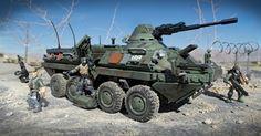 Call of Duty - Combat Vehicle Attack   Mega Bloks - Collectors-joe