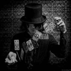 """""""He's a cardspinner."""" A man said.  She didn't know what a cardspinner was exactly. All she knew was that he was a sort of gypsy. And he had...power."""