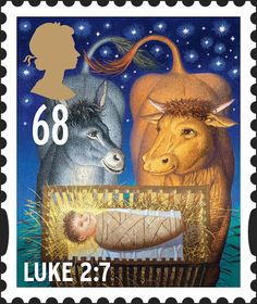 Royal Mail Special Stamps | Christmas 2011 Luke 2:7