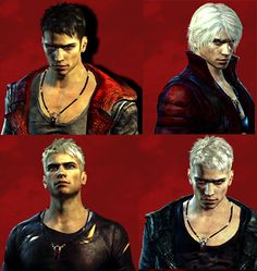Devil May Cry 5 Dante White Hair | white haired version of dante it s also rumored that dante s ...