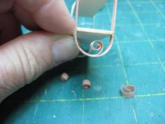 Dollhouse Miniature Furniture - Tutorials | 1 inch minis: Another Quilled Project, A Shelf Miniature Dollhouse Furniture, Dollhouse Miniatures, Quilling Paper Craft, Paper Crafts, Wooden Pattern, Circle Template, Acrylic Craft Paint, Small Stuff, Paper Craft Supplies