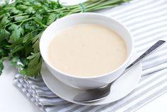 Krem ziemniaczano-porowy. Inspiracje kulinarne #intermarche #zupy #KremZiemniaczany