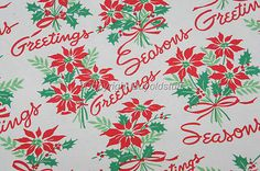 50s christmas wrap paper - Yahoo Canada Image Search Results