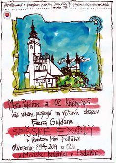 primátorka Podolinca, Mgr. Iveta Bachledová pozvala účastníkov na výstavu obrazov maliara, Františka Guldana, Spišské Exody do mestskej knižnice v Podolinci. Podujatie bolo ukončené spoločným obedom.  http://de.scribd.com/doc/221496658/SOWA-Magazyn-Europejski-20140502-Pietna-spomienka-v-Podolinci-pdf