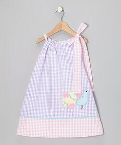 Purple Peacock Seersucker Swing Dress - Infant, Toddler & Girls   Daily deals for moms, babies and kids