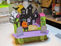 Calla Lily Studio Blog: Halloween Slide - No- Glide!