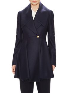 Wool Pleated Dress Coat from Extra 25% Off: Our Favorite Outerwear on Gilt
