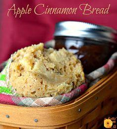 a Latte' with Ott, A: Apple Cinnamon Bread in Jars