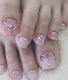 nail art for toes. Matching finger nails would be gorgeous. Pedicure Nail Designs, Pedicure Nail Art, Toe Nail Designs, Manicure, Pretty Toe Nails, Cute Toe Nails, Toe Nail Color, Toe Nail Art, Nail Swag