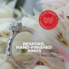 Cape Diamonds will design (or help you choose) a hand-finished work of art fit for your engagement vision. Unique Diamond Rings, Cape, Diamonds, Engagement Rings, Crystals, Fit, Jewelry, Design, Mantle