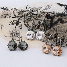 "Miglio Designer Jewellery on Instagram: ""The new earring styles - capturing the true spirit of woman!  Available online."" Designer Jewellery, Jewelry Design, Bridal Jewellery, Fashion Earrings, Cufflinks, Spirit, Woman, Accessories, Instagram"