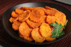 Spicy Peanut Baked Sweet Potatoes