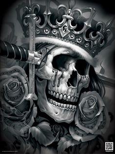 OGABEL.COM - Suicide King Poster, $9.95 (http://www.shopogabel.com/suicide-king-poster/)