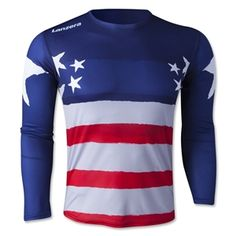Lanzera USA Long Sleeve Goalkeeper Jersey - SoccerShop.com // This would be hilarious to wear for handball. Although I probably wouldn't.