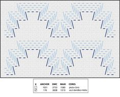 Discover thousands of images about Patrones Punto de Cruz: punto yugoslavo Ribbon Embroidery, Cross Stitch Embroidery, Embroidery Patterns, Cross Stitch Patterns, Cross Stitches, Loom Patterns, Huck Towels, Swedish Weaving Patterns, Swedish Embroidery