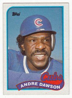 Andre Dawson # 10 - 1989 Topps Baseball