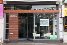 contemporary storefront design | Modern store front! We will change the signage (obviously) and the ...