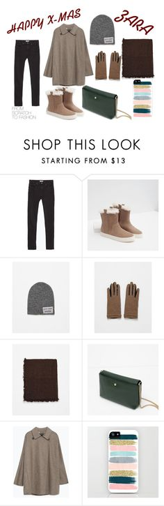 """""""HAPPY X-MAS"""" by elisegroth on Polyvore featuring Zara"""