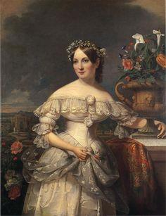 19th-century American Women: American Women by Jacob Eichholtz 1776-1842, Serena Mayer Franklin, 1838
