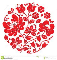 Bordado Rojo De Kalocsai - Modelo Popular Floral Redondo Húngaro - Descarga De Over 36 Millones de fotos de alta calidad e imágenes Vectores% ee%. Inscríbete GRATIS hoy. Imagen: 51657630