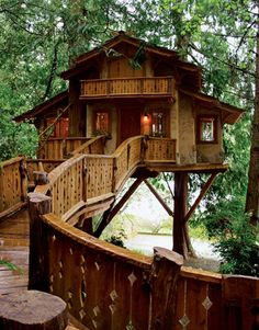 Bad ass treehouse!