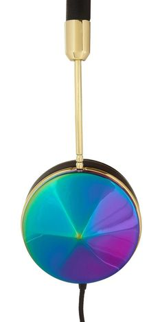 #FRENDS Layla #Headphones in Oil Slick. Available with interchangeable cap sets and FREE US shipping at wearefrends.com <3
