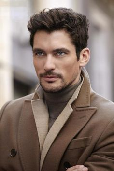 David Gandy looking dapper