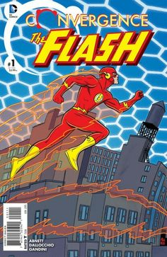 The cover to Convergence: The Flash #1 (2015), art by Michael & Laura Allred