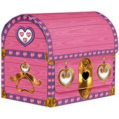 treasure chest favor boxes $3/4 (4 x 3.5 x 2.75)
