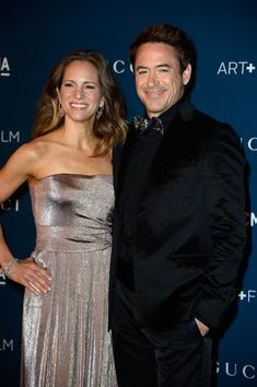 Robert Downey Jr. and Susan Downey at the LACMA 2013 Art + Film Gala on November 2, 2013 in Los Angeles.