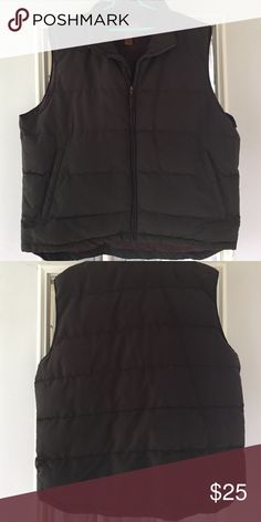 St John's Bay Puffy Vest XL men's vest. Shell, lining and filler all 100% polyester. St. John's Bay Jackets & Coats Vests