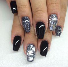 Black, Silver, & Glitter