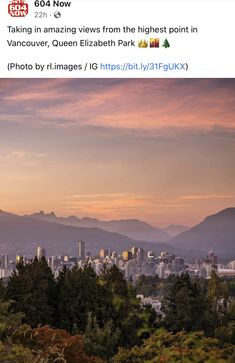 Queen Elizabeth Park, Vancouver Photos, Park Photos, High Point, Mountains, Amazing, Nature, Travel, Naturaleza
