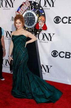 Bernadette Peters on the Audemars Piguet 2013 Tony Awards Red Carpet.