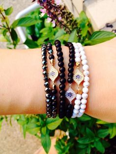 Friendship bracelets protection from the evil eye !! Order from our ⬇️shop⬇️ etsy.com/shop/MilaIvana