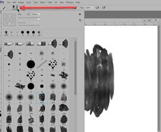 How to Quickly Locate a Photoshop Brush Spaced Repetition, Photoshop Brushes, Scrapbook, Tutorials, Scrapbooking, Wizards, Guest Books, Scrapbooks