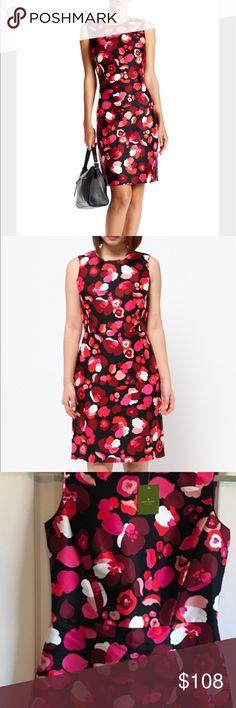 NWT Kate spade falling floral Della dress NWT kate spade Dresses