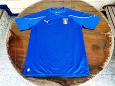 ITALY 2010 WORLD CUP QUALIFICATION HOME JERSEY MAGLIA CAMISETA MEDIUM Vintage Jerseys, Football Jerseys, World Cup, Italy, Medium, Classic, Mens Tops, Shirts, Collection