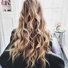 Natural dirty blonde with highlights