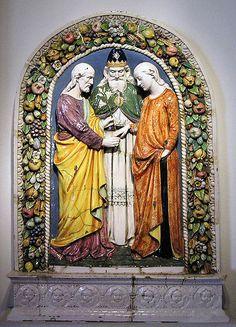 Andrea della Robbia - Lo sposalizio di Giuseppe e Maria - Malmö