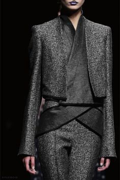 styletrove:  LOVE: Haider Akerman, layering.