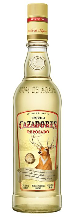 Cazadores Reposado is a pungent tequila, with intense agave notes Tequila Liquor, Sipping Tequila, Best Tequila, Tequila Bottles, Liquor Bottles, Vodka Bottle, Most Expensive Liquor, Fun Drinks, Alcoholic Drinks