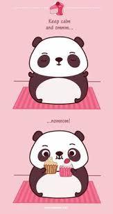 Risultati immagini per panda dibujo tierno