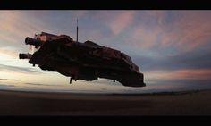 Star Wars concept spaceship , Nicolas Pierquin.