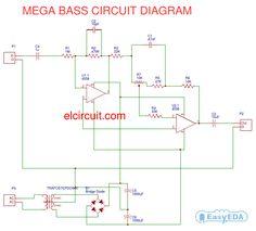 Mega Bass Circuit using 4558