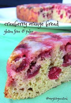 Upside Down Cranberry Orange Bread  #MegsVegucation