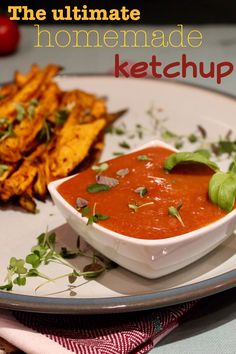 The best ketchup ever, low on calories, refined sugar free, oil free and healthy