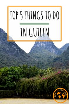 Most people visit Guilin to take pretty pictures of the terraced rice fields. That was our plan but it didn't quite work out how we wanted it to! However, there ARE other things to do to keep yourself busy in this charming city. Just make sure you remember your camera!