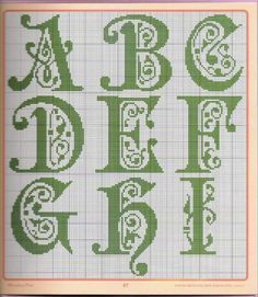 Bordado Passo a Passo: Monogramas para bordar
